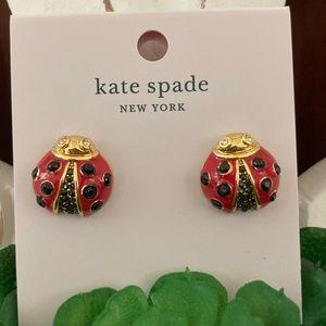 Kate Spade Little Ladybug Earrings 🐞🐞